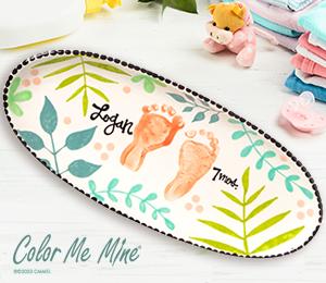 Long Beach Tropical Baby Tray