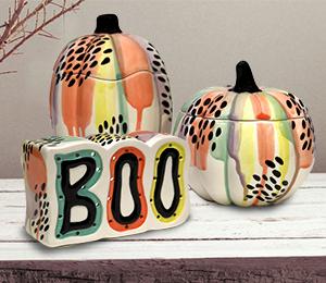 Long Beach Drippy Pumpkin Box