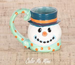 Long Beach Snowman Mug
