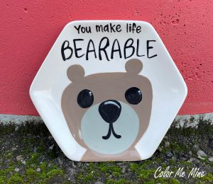 Long Beach Bearable Plate