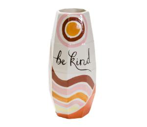Long Beach Be Kind Vase