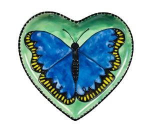 Long Beach Butterfly Plate