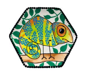 Long Beach Chameleon Plate