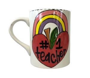 Long Beach Rainbow Apple Mug